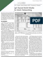 New High-Speed Multi-Media Radio Mesh Networking