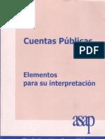 CuentasPúblicas Elementos para su interpretacion
