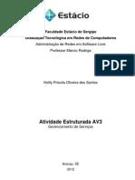 TRABALHO AV3 - Completo Livre