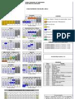 Calendario Oficial 2012 Modificado