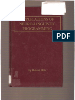 1983 - Dilts-Application of NLP