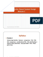 Microcontroller Based System Design Module-1