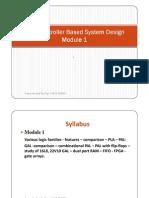 Microcontroller Based System Design Module-1