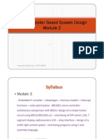 Microcontroller Based System Design Module-2