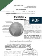 Paralelos y Meridianos