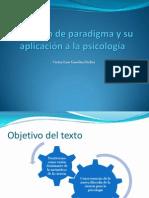 La noción de paradigma y su aplicación a la psicología