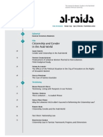 Citizenship and Gender in the Arab World - Al-RAIDA 129-130