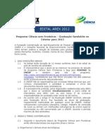 CsF Edital 2sem 2012