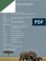 BNHS Programmes May-June 2012