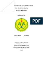 Rancangan Pelaksanaan Pembelajaran Bahasa Prancis SMA Kelas X