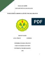 MAKALAH AKHIR MATA KULIAH UMUM AGAMA ISLAM II  PAHAM SEKULARISME (LAΪCITÉ) NEGARA PRANCIS