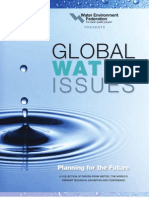 WEF Global Water Issues - Planning for the Future