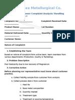 Analysing Report Format for Poor Nodularity