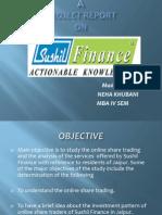 Sushil Finance Ppt