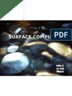 Anil Seminar Surface Computing