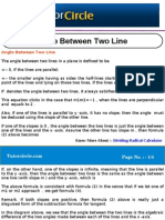 Angle Between Two Line