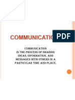Forms of Comm