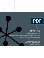Business Model Design and Innovation for Competitive Advantage