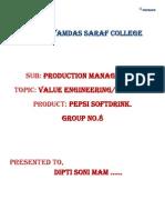 Value EngineeringAnalysis