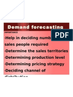 4. Demand Forecasting