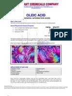 Oleic Acid - General Info