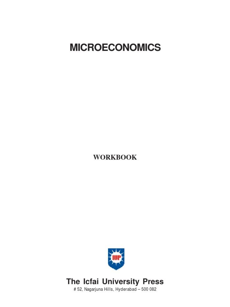 Workbooks the outsiders workbook : Micro Economics ICMR Workbook | Oligopoly | Monopoly