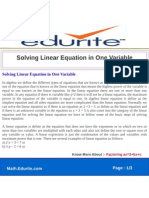 Quiz Background | Differential Equations | Equations