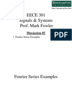 EECE 301 Discussion 05 - Fourier Series Examples