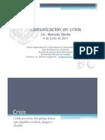 Comunicacion en Crisis - Lic. Davila