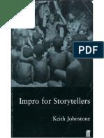Keith Johnstone - Impro_for_Storytellers