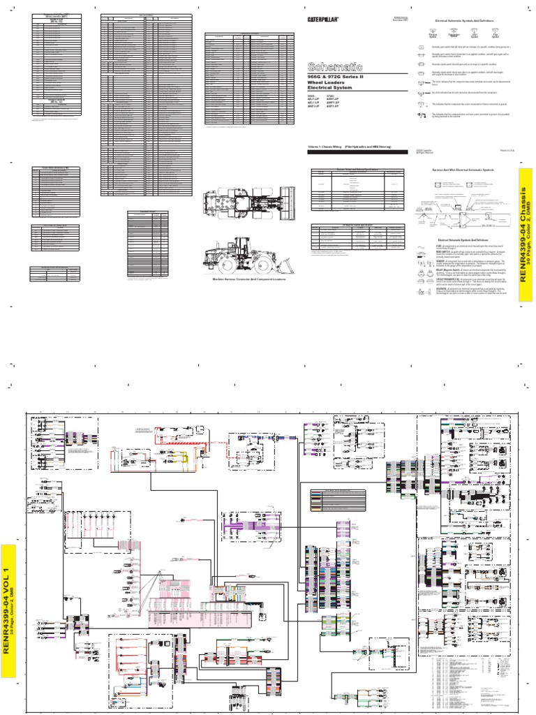 Cat 966 Wiring Diagram Automotive C9 Caterpillar Adem 4 33 3 6