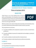 Trade Finance Low