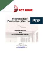 ProgressivTube Installation Operations Manual 03 02 09