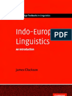 Indo-European Linguistics - an Introduction