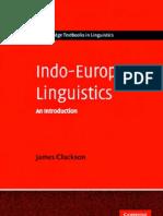 Indo-European Linguistics - an Introduction