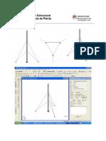 Análisis y Diseño Estructural de Torre en Celosia de Planta Triangular