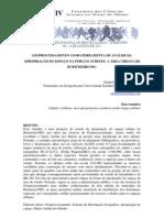 GEOPROCESSAMENTO COMO FERRAMENTA DE ANÁLISE DA APROPRIAÇÃO DO ESPAÇO NA PORÇÃO SUDESTE