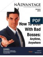 AdminAdvantage - Exclusive Online Magazine for Professionals January 2012