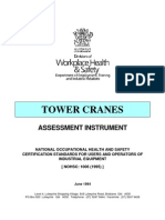 Tower Crane-Assessment Instrument
