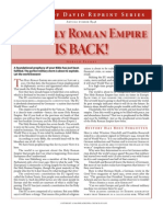 The Holy Roman Empire is Back