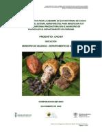 Cacao Clonado Bajo El Sistema Agroforestal