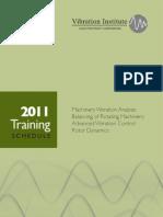 2011 Training Schedule VI