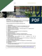 studentennieuwsbrief 2012-2013