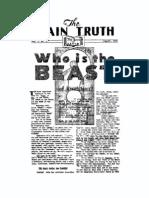 Plain Truth 1934 (Vol I No 06) Aug