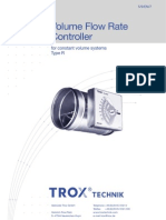 Volume Flow Rate Controler