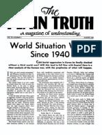 Plain Truth 1950 (Vol XV No 04) Aug