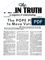 Plain Truth 1951 (Vol XVI No 01) Oct