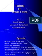 Oracle Forms Training