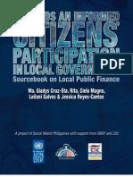 Sourcebook on Local Public Finance