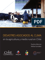 Desastres Asociados al Clima en la Agricultura y Medio Rural de Chile